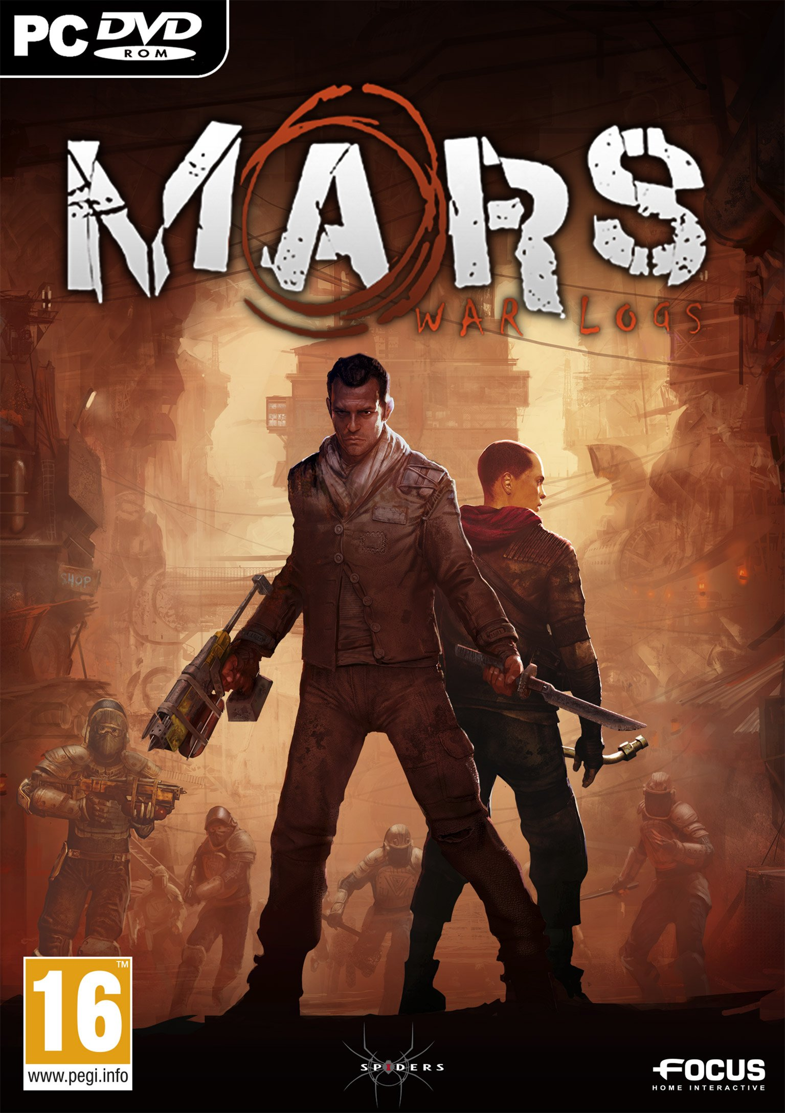 Mars: War Logs v.1.0.1736 [GOG] (2013) PC | Лицензия