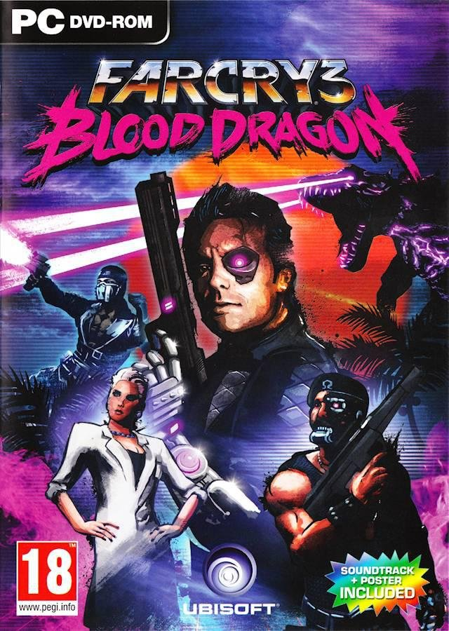 Far Cry 3: Blood Dragon v.1.02 [L] (2013) PC | Лицензия
